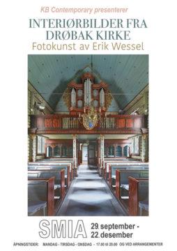 Interiorbilder fra Drøbak Kirke
